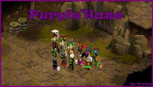 Bienvenue sur le blog officiel de la guilde Purple'Haze