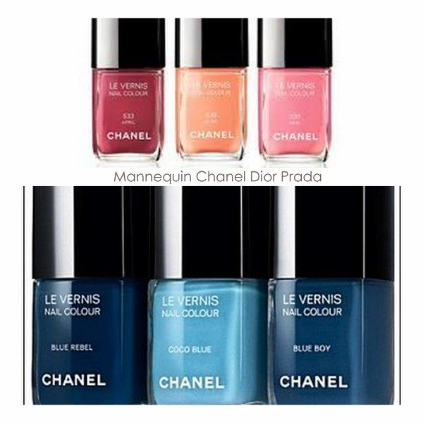 le beau Vernis 2012 de Chanel