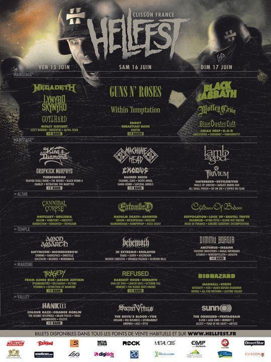 \m/ HellFest 2012 \m/