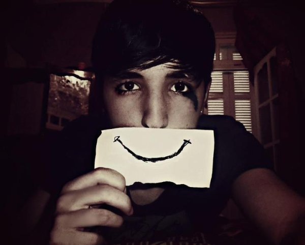 Fake it  and smile :)