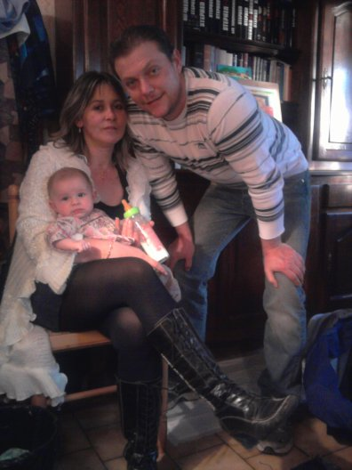 ma fille,ma petite-fille et mon gendre
