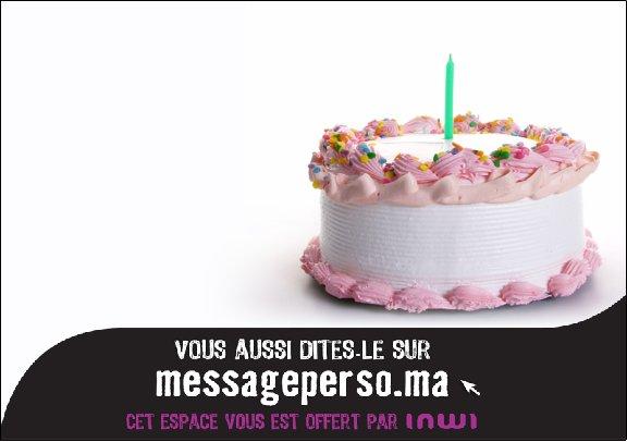 Balance le meilleur message d'anniversaire