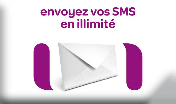 Envoie tes SMS en illimité