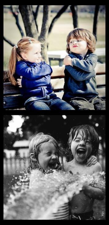 Laisse toi aimer! Laisse le t'aimer! Laisse entrer un peu de bonheur dans ta vie!