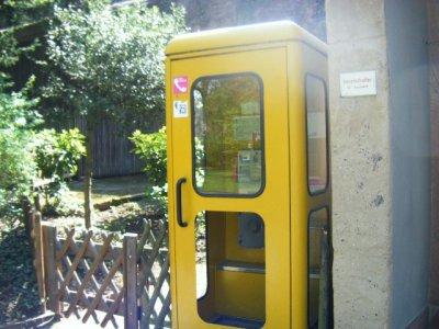 可愛いだけじゃないドイツの公衆電話