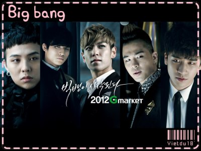 I love : K-pop.