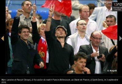 Tous supporter de l'Equipe de France