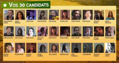 Les 30 sélectionnées au casting ADAM et EVE