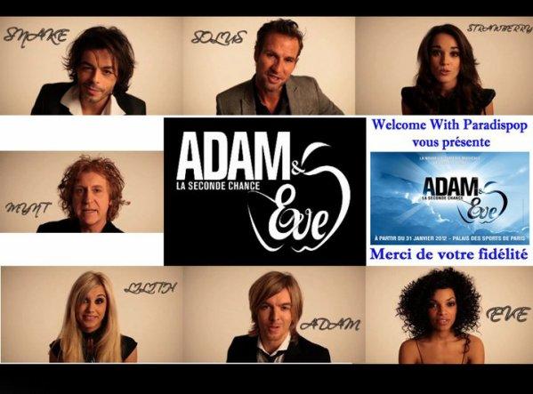 La Troupe d'Adam et Eve se présente à vous