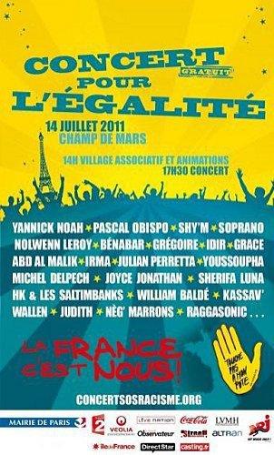 Pascal Obispo sur scène le 14 juillet à Paris