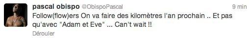 Interview vidéo Pascal Obispo dans Hebdo Music Mag - Samedi 23 Juin 2012