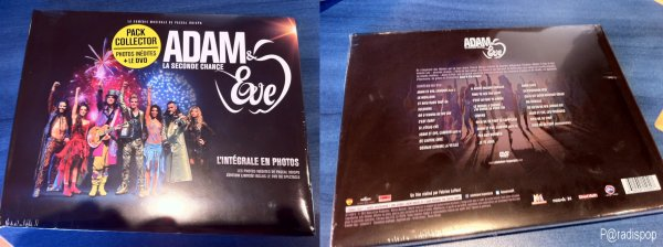 DVD, CD, LIVRE ... Adam & Eve la seconde chance, dans nos mains