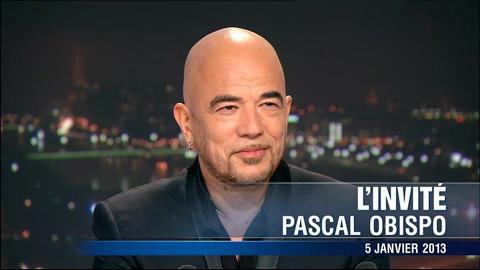 7 millions de télespectateurs devant Pascal Obispo au JT 20H TF1 - Samedi 5 Janvier 2013 -