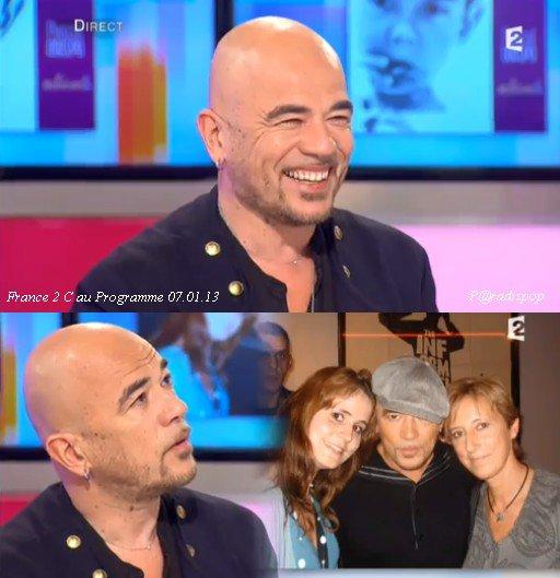 """TV REPLAY : Pascal Obispo dans """"C à vous"""" """"C au Programme"""" """"Touche pas à mon poste"""" """"JT 20H TF1""""..."""
