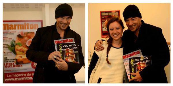 ACTU @ObispoPascal sur Europe 1, TéléFoot, et à la rencontre de ses fans (auFéminin.com et Marmiton)