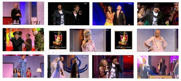 Les Enfoirés 2013 ont fait le show ! record d'audience sur TF1 hier vendredi 15 Mars 2013