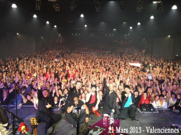 Photos article : @ObispoPascal de retour en France - Valenciennes, Roubaix, Forges les eaux -