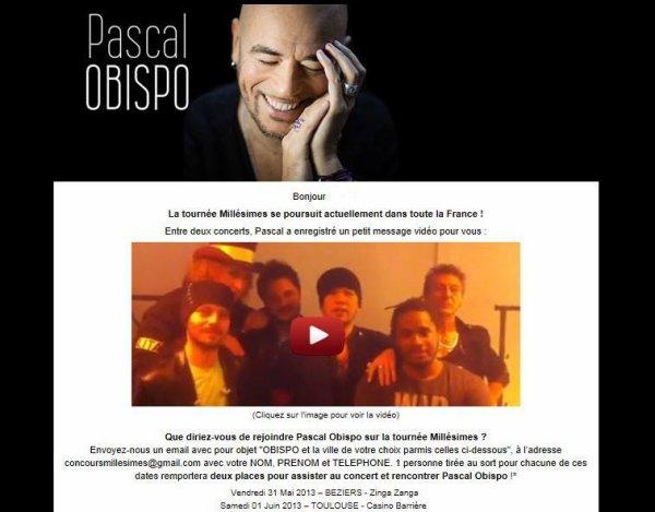 Découvrez le nouveau site Officiel de @ObispoPascal www.pascalobispo.com