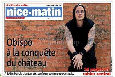 "Interview @Nice_Matin : @ObispoPascal ""Le prochain album sera le meilleur"""