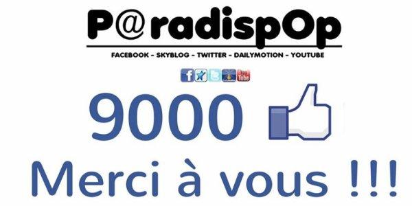 Plus de 9000 fans sur facebook @Paradispop consacré à @ObispoPascal and Co