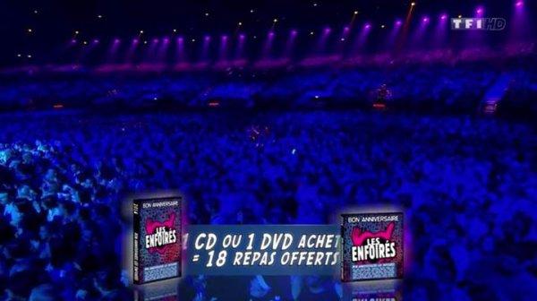 Photos Bon anniversaire Les @Enfoires devant 12.2 millions de télespectateurs