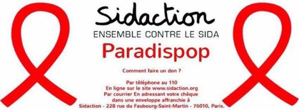 1994-2014 ... 20 ans le combat continue #EnsembleContreLeSida @ObispoPascal au JT de TF1