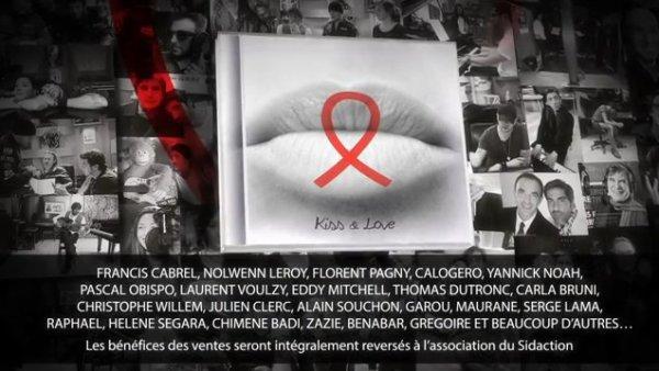 Dans les Bacs #KissAndLove album évènement indispensable 20 ans @Sidaction by @ObispoPascal