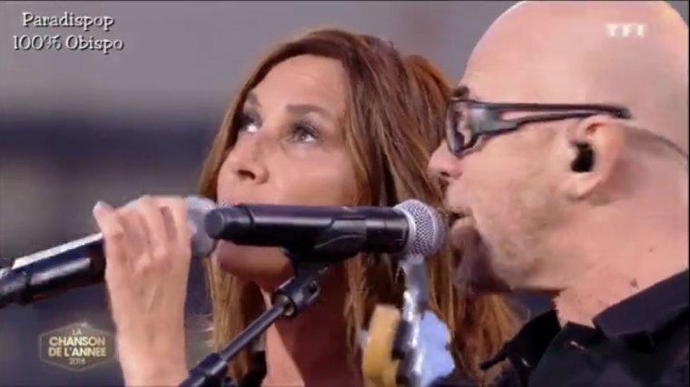 """Replay duo Pascal OBISPO & Zazie """"Eteins la lumière"""" dans """"La Chanson de l'année 2018"""""""