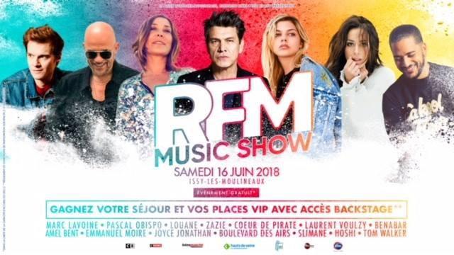Retrouvez Pascal OBISPO #ChanteLaRue au RFM MUsic Show ce samedi 16 Juin 2018