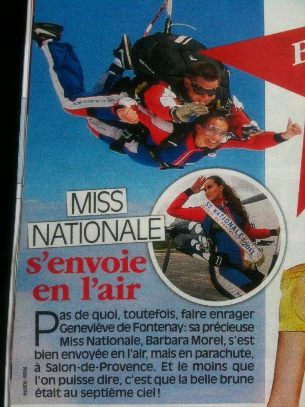 ACTU BARBARA MOREL MISS NATIONALE 2011