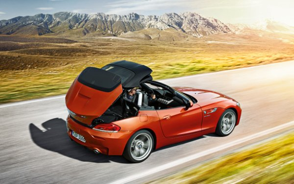The BMW Z4 (the successor to the BMW Z3)