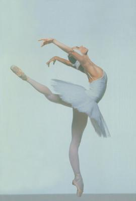 Danseuse arabesque cambree danseuse toile du lac des - Dessiner une danseuse ...