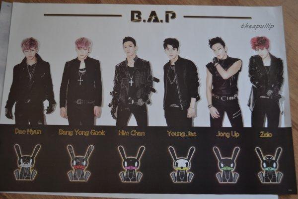 Achats K-pop/ paris (U-KISS ; B.A.P)/part 5 fin