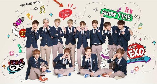 Fiche émission -> EXO Showtime