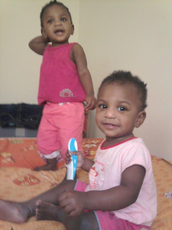 mes deux petites princesses
