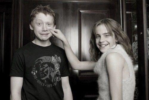 Hermione et Ron / couple