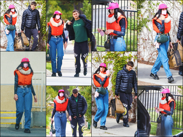 15 FEVRIER 2021 ✧  La belle Dua  a été photographiée allant faire des courses à  - Los Angeles