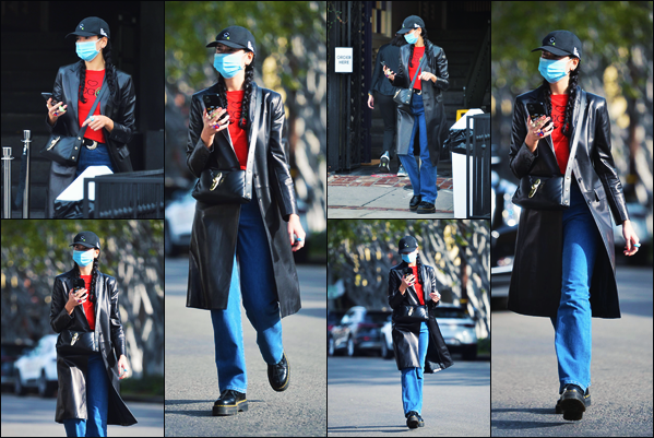 02 FEVRIER 2021 ✧  La belle Dua Lipa.   a été photographiée dans les rues de  - Los Angeles !
