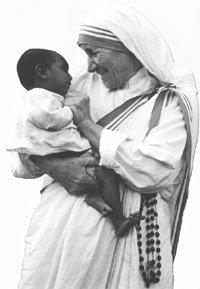 Mère Térèsa.