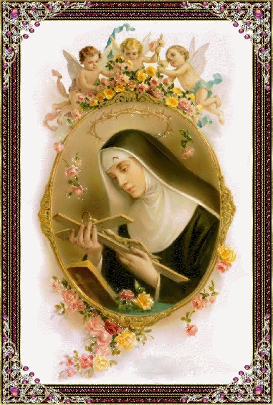 Prières à Sainte Rita Recours à l'intercession de sainte Rita auprès de Dieu.