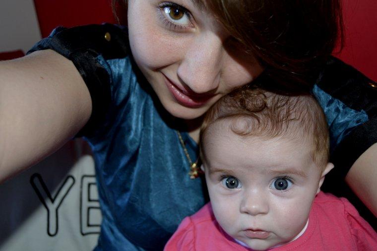 Mon bébé, ma nièce ♥
