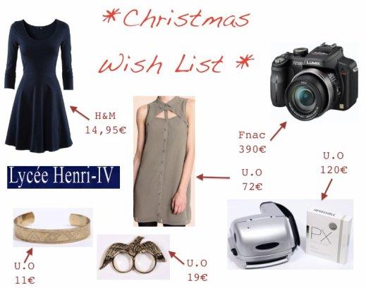 Cher Papa Noël... / Dear Santa Claus...