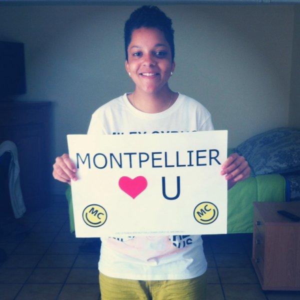 Bangerz Tour 2014 ( Montpellier 23/05/2014 )