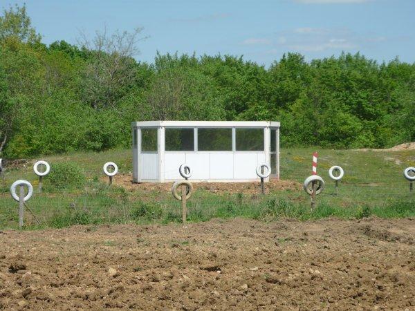 Nouvelle cabane de pointage