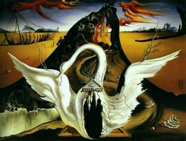 Peinture de Dali