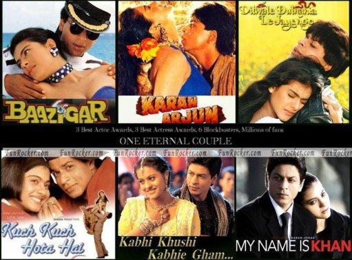 Films de Shahrukh Khan et Kajol