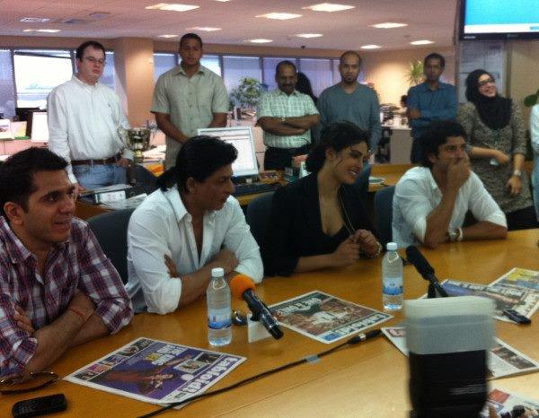 """Shahrukh, Priyanka et Farhan font la promo de """"Don 2"""""""