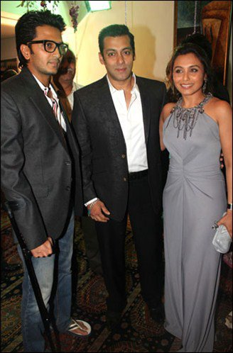 SRK à l'anniversaire de Dilip Kumar