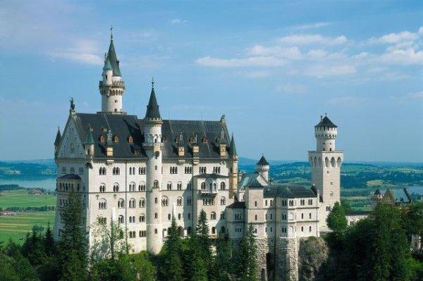 Très beau château en Allemagne