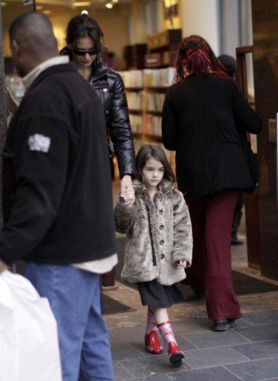 Le 7 Janvier 2011, Katie, Tom et Suri
